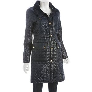 EUC Ivory Marc by Marc Jacobs Quilted Coat